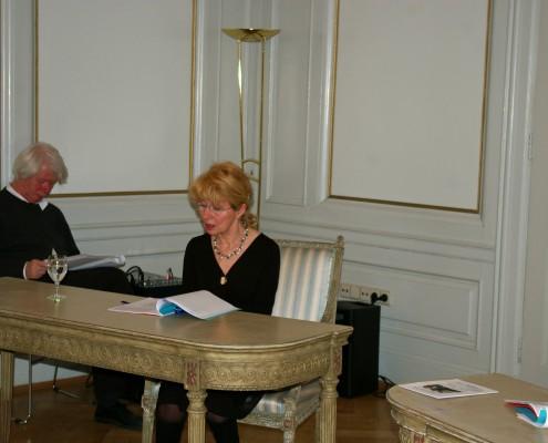 Soirée littéraire 2013 avec Françoise Höcherl