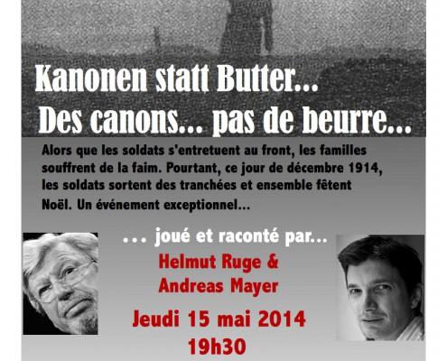Kanonen statt Butter - Helmut Ruge
